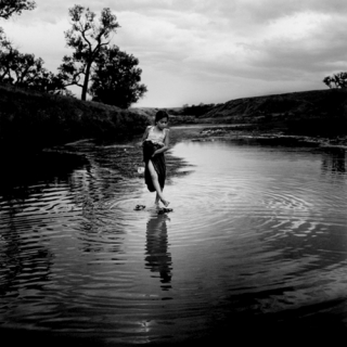 Emily Schiffer - Clean shoes, Cheyenne River